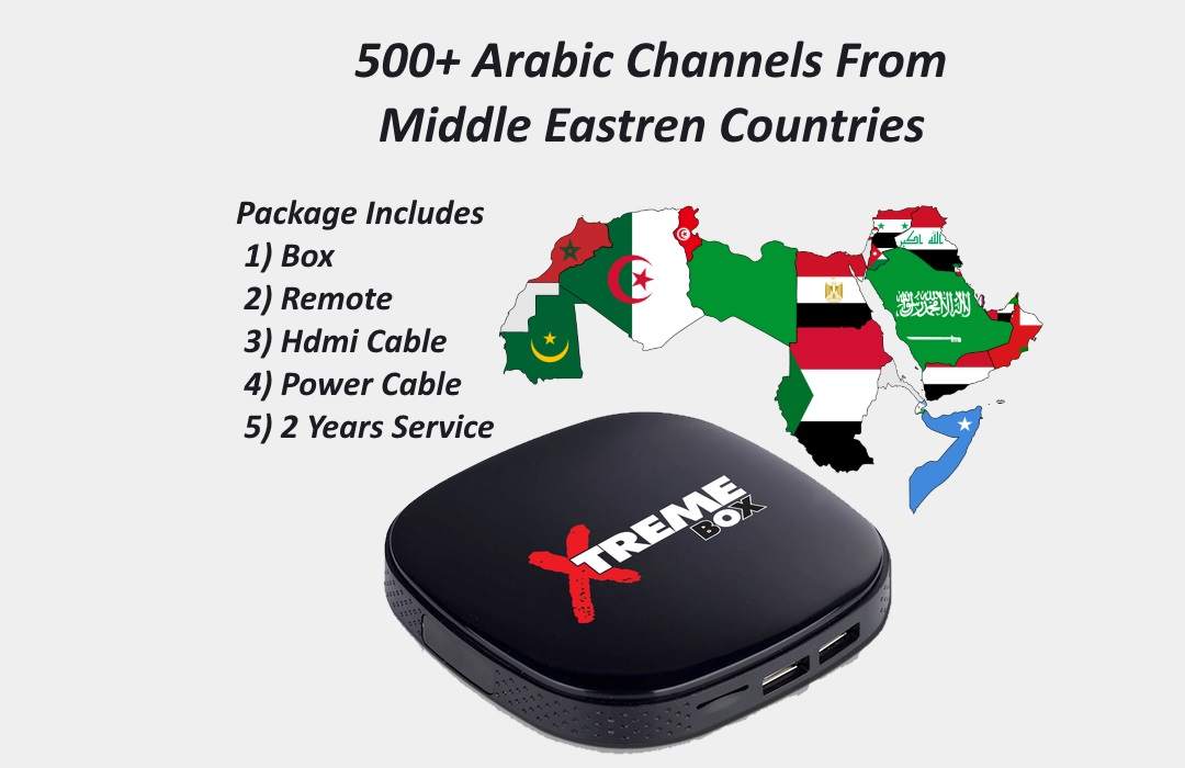 Xtreme Box HD – Best iptv Arabic, Indian Italian and many more